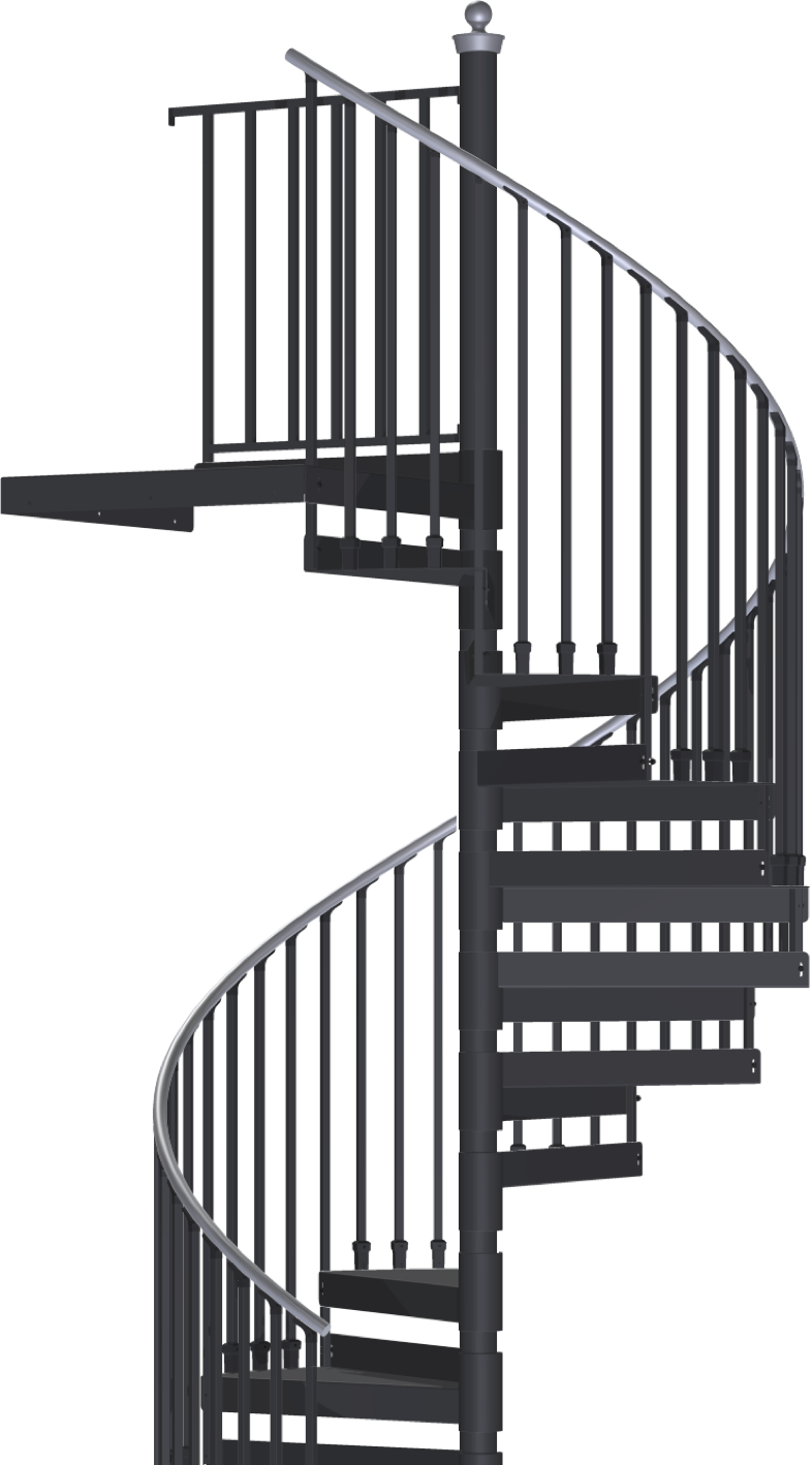 Shop For Indoor And Outdoor Spiral Stair Kits Spiral Stair Warehouse